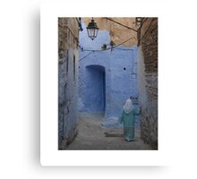 In the Medina Canvas Print