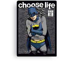 Choose Life Canvas Print