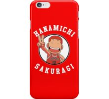 Hanamichi Sakuragi Slam Dunk Shohoku High School No 10 iPhone Case/Skin