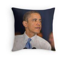 President Barack Obama: Strongsville, Ohio - March 15, 2010 Throw Pillow