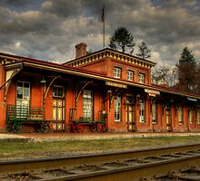 TAMAQUA DEPOT  by MIKESANDY