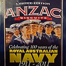 ANZAC Biscuit Tin  by George Petrovsky