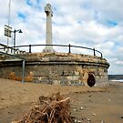 Sandown Beach IOW Memorial  by Simon Gentleman