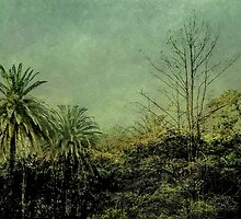 Nature Scene Grunge Vintage Style Photo by DFLC Prints