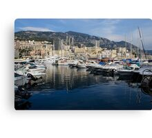 Postcard from Monte Carlo Canvas Print
