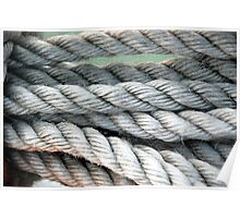 Rope from IOW Ferry Poster