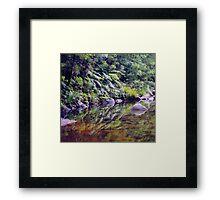 River Reflections, Coombadjha Creek Framed Print