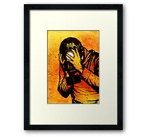 "Leroy Has A ""Moment"" Framed Print"
