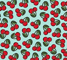 CHERRY - MINT by tosojourn
