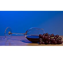 Spill the Wine Photographic Print