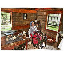 Spinning Wool 2 Poster