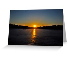 The Sun Beckons Greeting Card