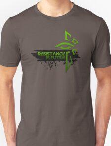 Ingress Enlightened - Resistance is Futile Unisex T-Shirt