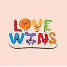 Love wins by mjdaluz