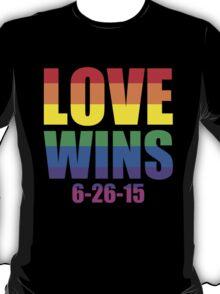 Love Wins 6-26-15 T-Shirt