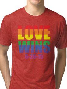 Love Wins 6-26-15 Tri-blend T-Shirt