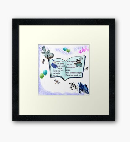 Fairytale Of The Secret Keepers Framed Print