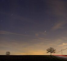 Star Trails and Taillights by Mark Van Scyoc