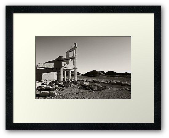 Bank Ruins, Rhyolite Ghost Town by Zane Paxton