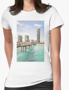 Sunny Side Of Life Womens Fitted T-Shirt