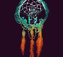 The Dream catcher (rustic magic) by Budi Kwan