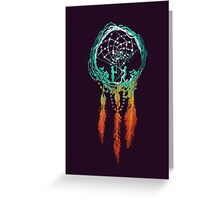 The Dream catcher (rustic magic) Greeting Card