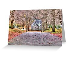 Chapel in the Cemetery Greeting Card