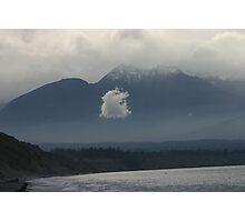 Strange Little Cloud - WA, Fall 2005 Photographic Print