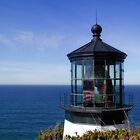 Lighthouse at Cape Meares Oregon by livinginoz