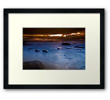 Dawn at The Caves Framed Print