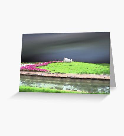 Flora Spill Greeting Card