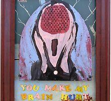 The Scream (Apologies to Munch) by Rik V. Livingston as Zono Art