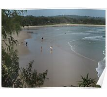 Surfers Life - The Pass Byron Bay, Australia Poster