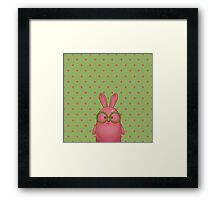Mr. Rabbit Framed Print