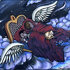 On the Wings of Dream by Rik V. Livingston as Zono Art