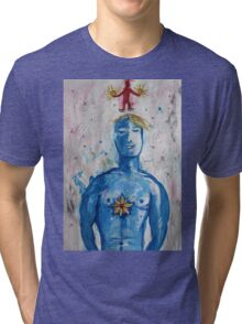 From A Lotus Heart The Crimson Child Tri-blend T-Shirt