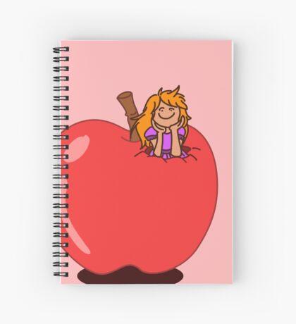 Hello Apple Spiral Notebook
