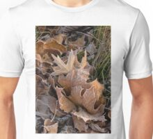 Frosty Leaves  Unisex T-Shirt