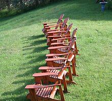 Adirondack Chairs by Alexandra Wise-Brogna