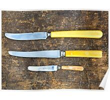 Old knives... Poster