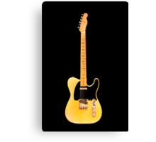 Fender Telecaster (1954) Canvas Print