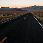 Desert Highway at Dusk by Zane Paxton