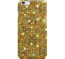 Gold Sequins And Sparkles iPhone Case/Skin