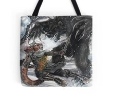 Werebear Battle Tote Bag