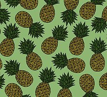 PINEAPPLE - GREEN by tosojourn