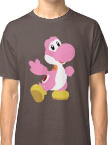 Peace Yoshi - Pink Classic T-Shirt