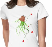 pot-head_large print/hoodie Womens Fitted T-Shirt