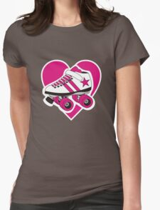 I Heart Derby Womens Fitted T-Shirt
