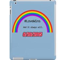#LoveWins iPad Case/Skin