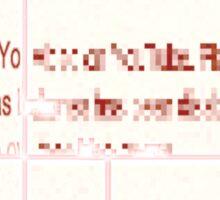 VIDEO REMOVED DDD ROOTCAT Sticker